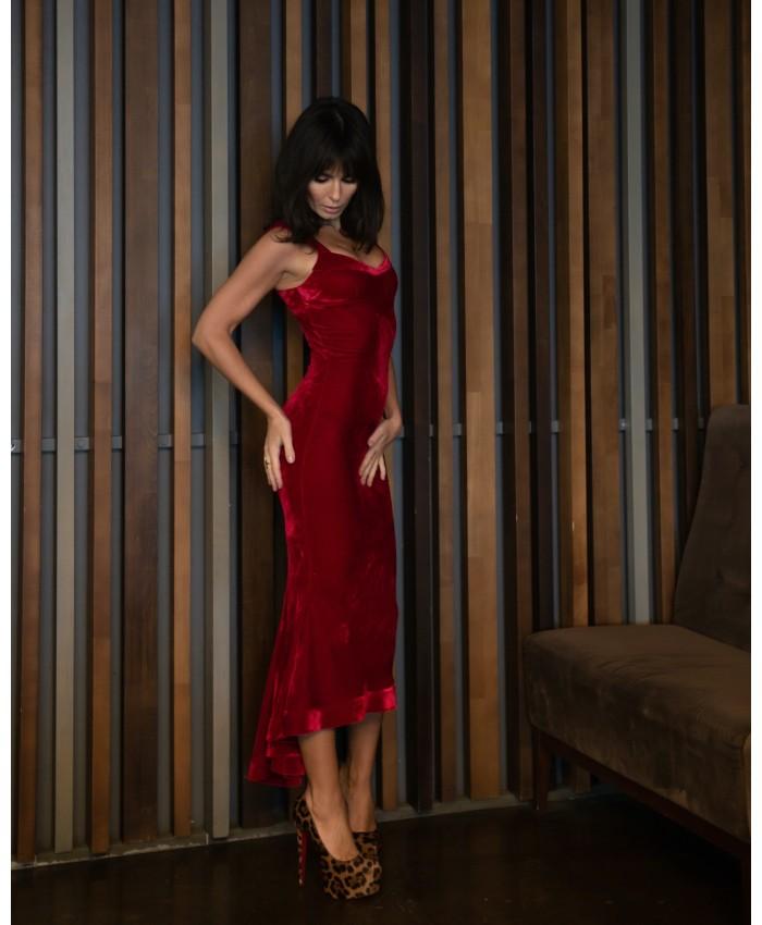 Monica Long Dress