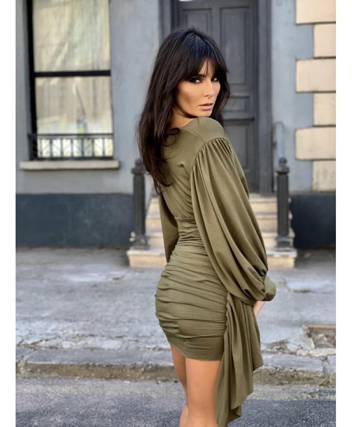 Ava Scarf Dress