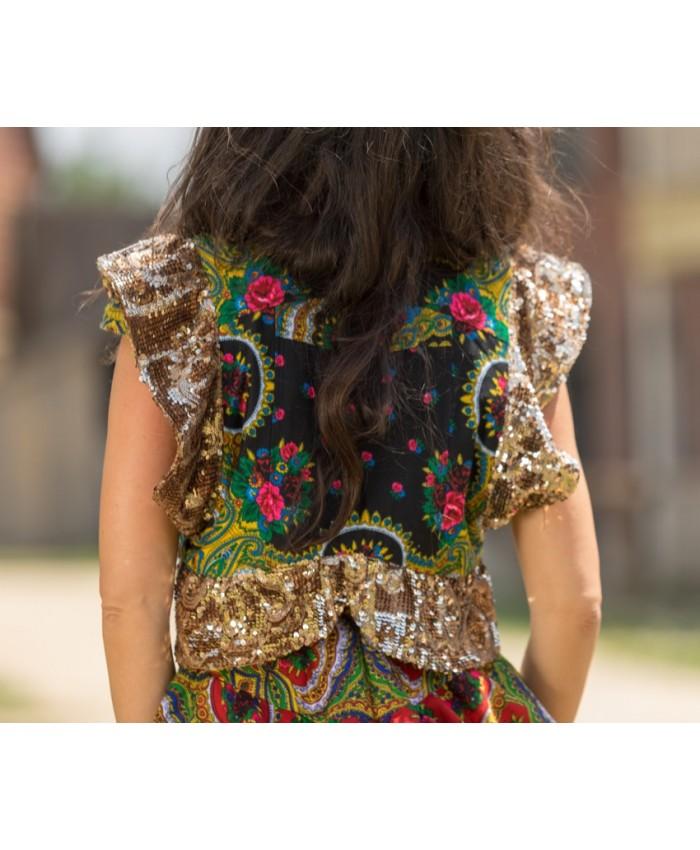 Shiny Gipsy Vest